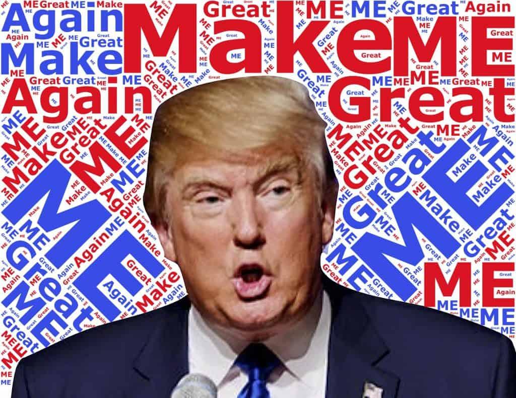 Trump - me marketing